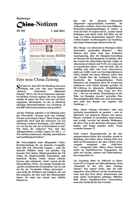 Interview by China-Notizen