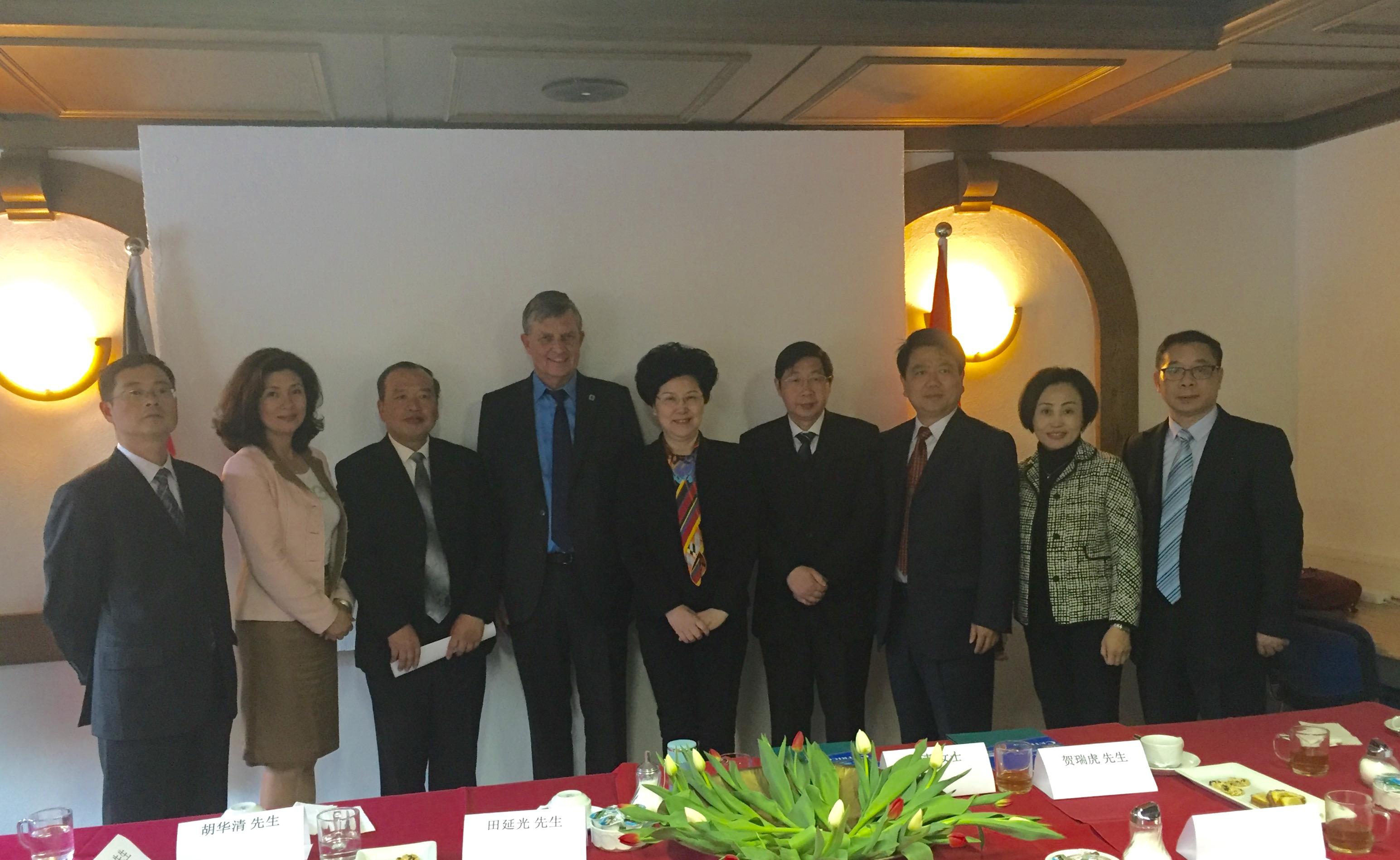Provinz Jiangxi Bildung Heißt Zukunft Deutsch Chinesische