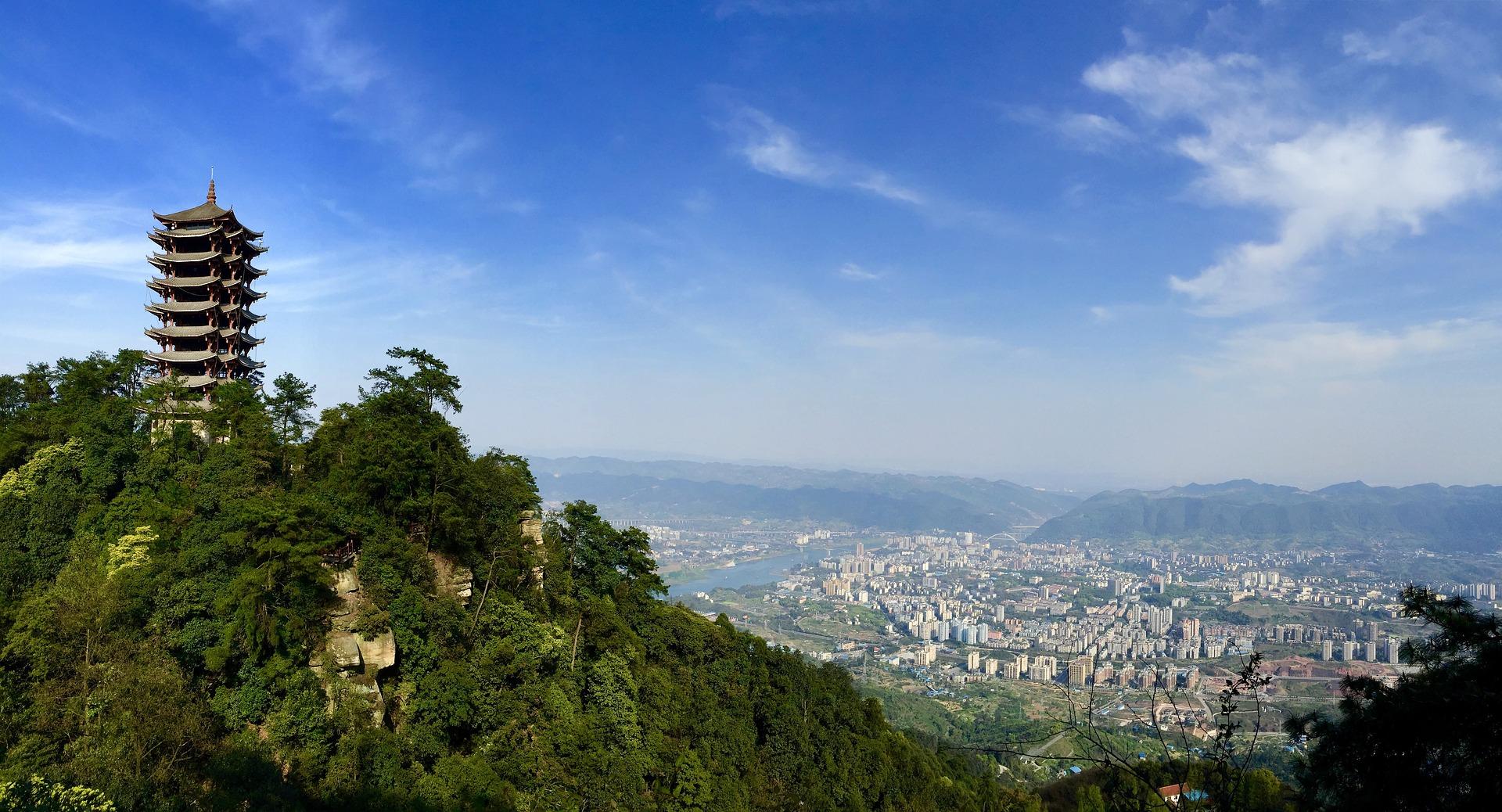Natur um Chongqing
