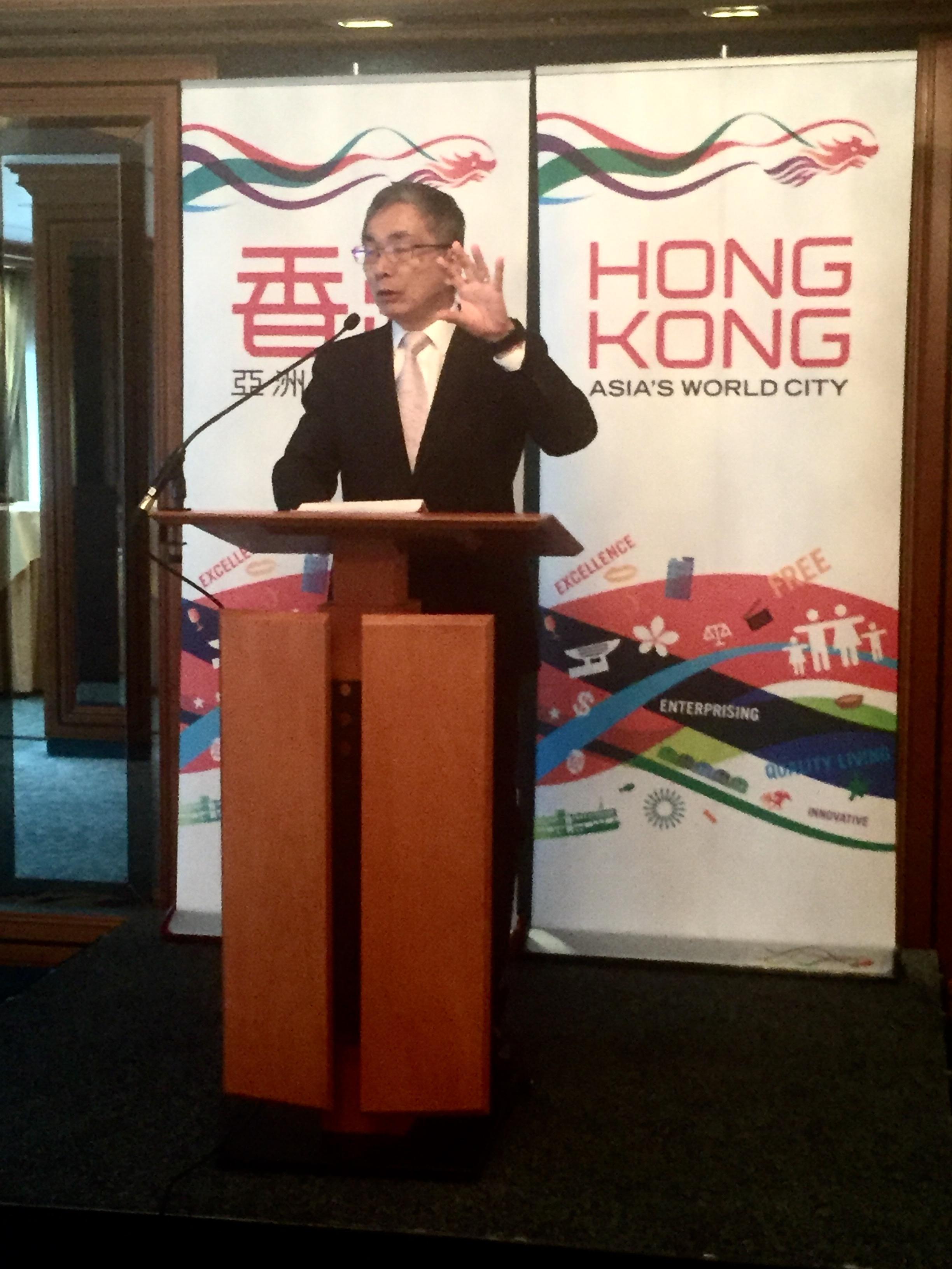 Hongkong-Finanzchef James Lau
