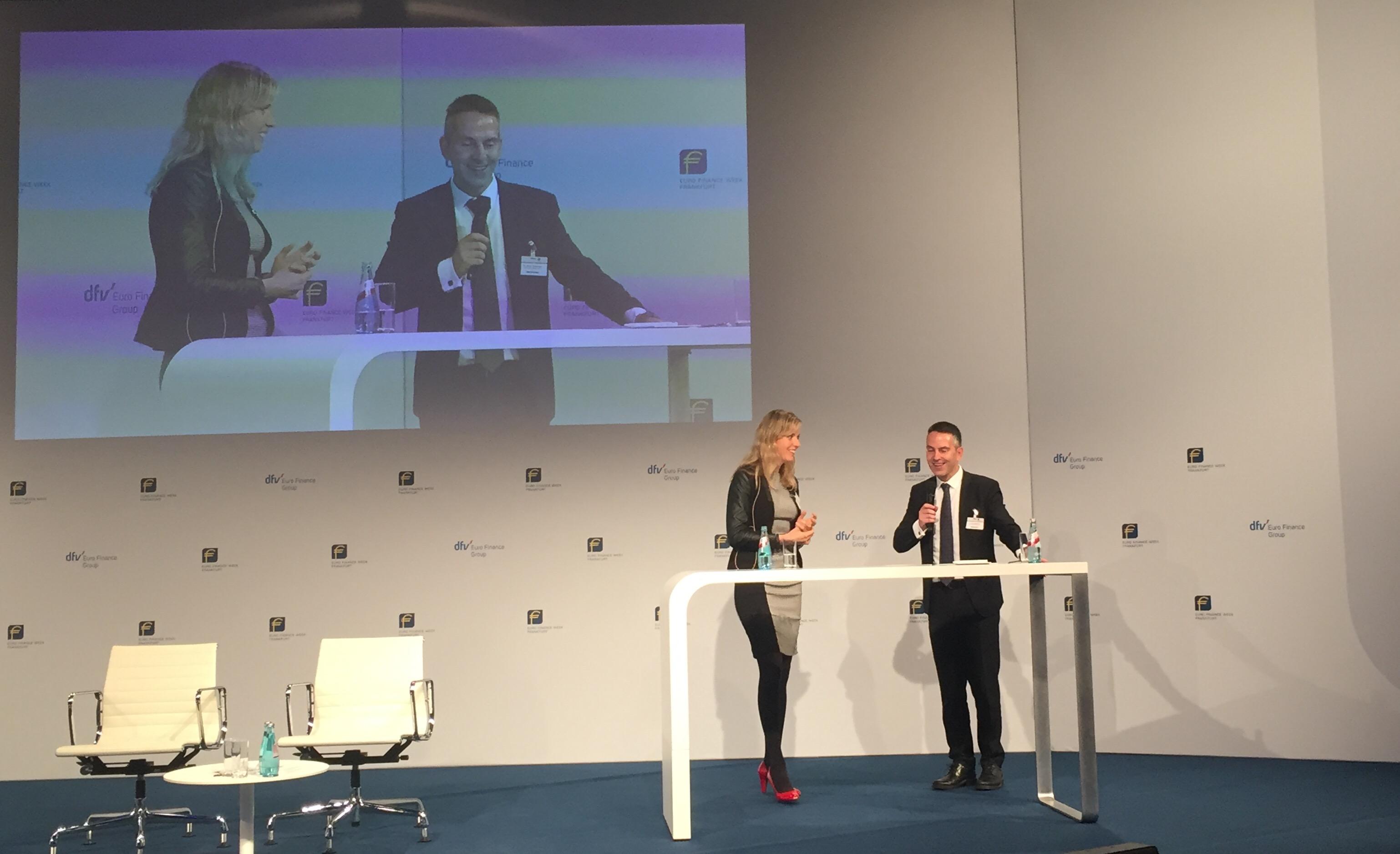 """""""Powertalk"""" A. Kostense und Dr. Biedermann"""
