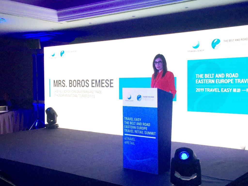 Seidenstraßeninitiative: Frau Boros Emese (Staatliche ungarische Tourismus Behörde)