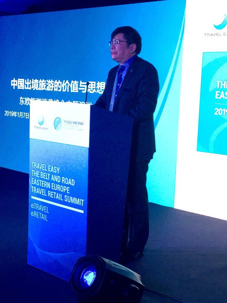 Seidenstraßeninitiative: Professor Dr. DAI Bin (Präsident Tourismus Akademie VR China)