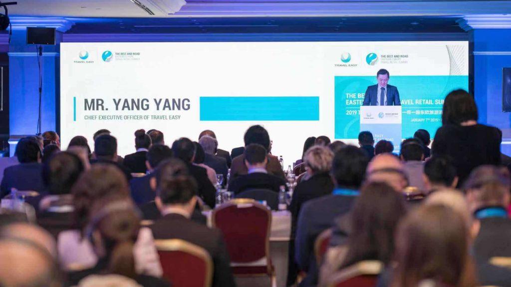 Seidenstraßeninitiative: CEO YANG Yang bei der Eröffnung