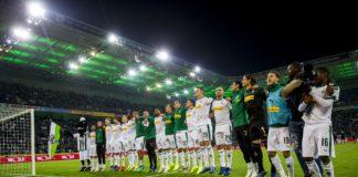 """Das Bundesligateam der Borussia im heimischen """"Borussia Park"""" (Foto: VfL Borussia)"""