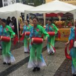 Einen Trommelwirbel veranstalteten die Damen der chinesischen Schule aus Darmstadt