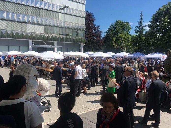 Groß war der Publikumsantrag beim Tag der offenen Tür des chinesischen Generalkonsulats