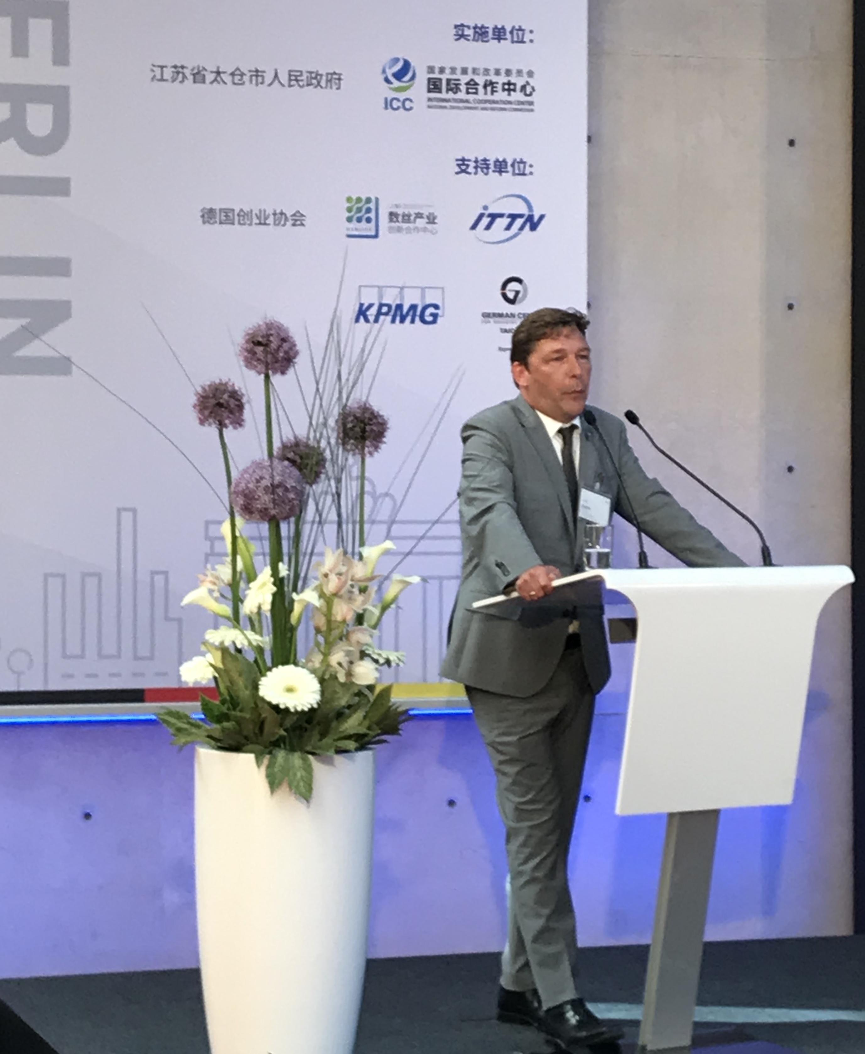 Axel Fuchs, Jülichs Bürgermeister, lobt die Intensität des partnerschaftlichen Austausches mit Taicang