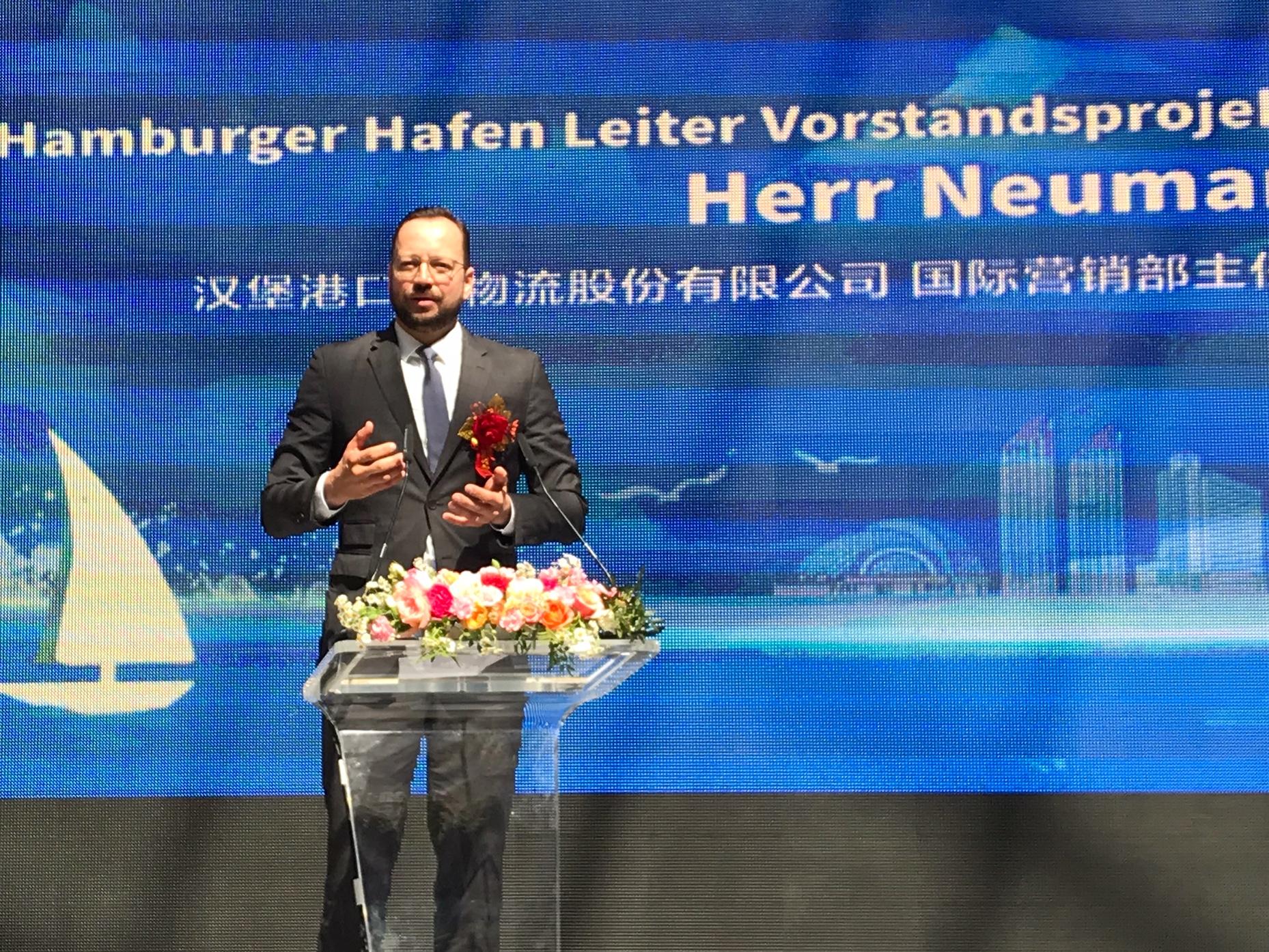 Lars Neumann unterstreicht das Kooperationspotenzial mit Qingdao