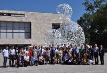 Die Konferenzteilnehmer auf dem Campus Westend der Frankfurter Universität