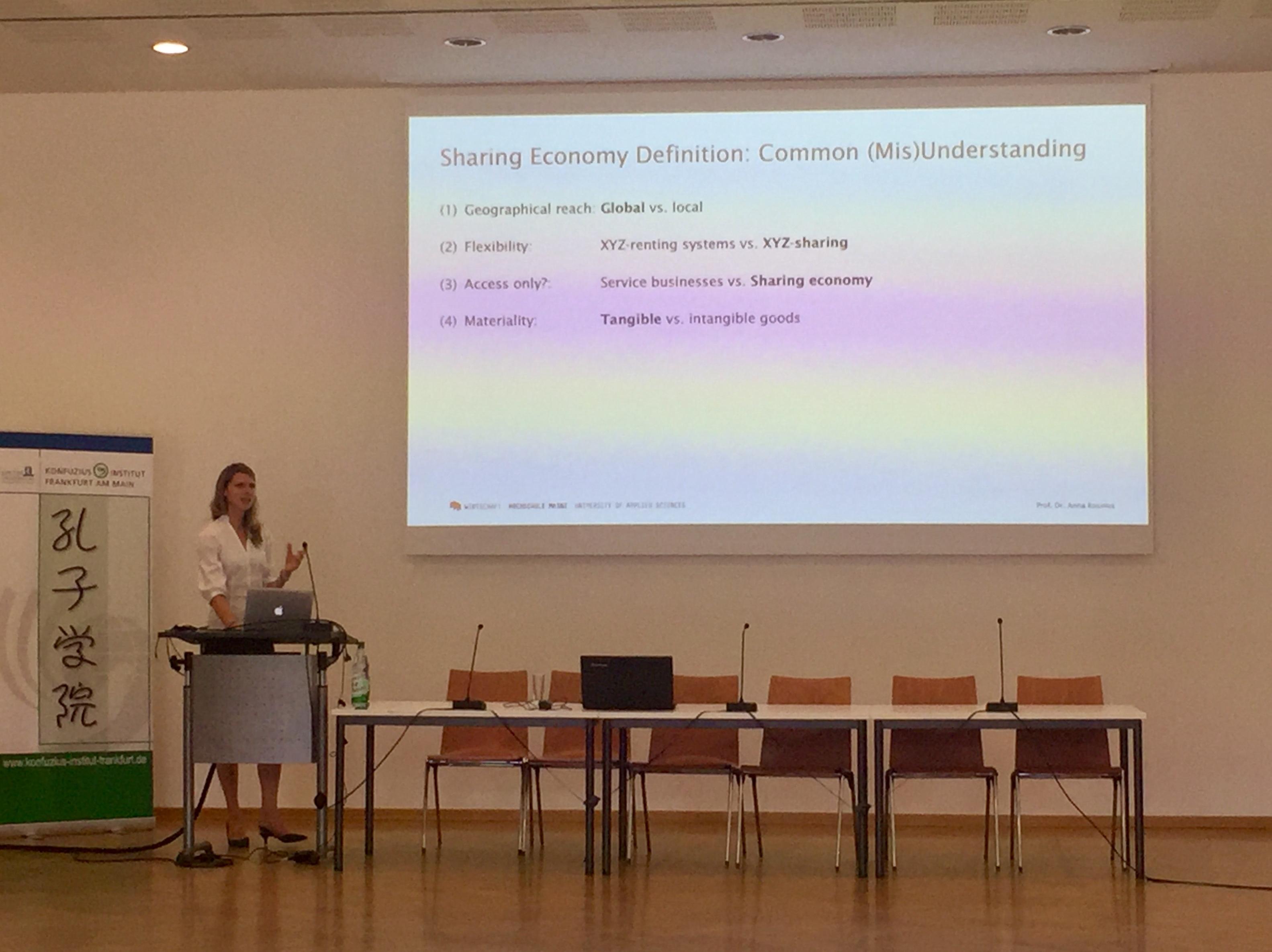 Keynote-Speech von Prof. Dr. Anna Rosinus