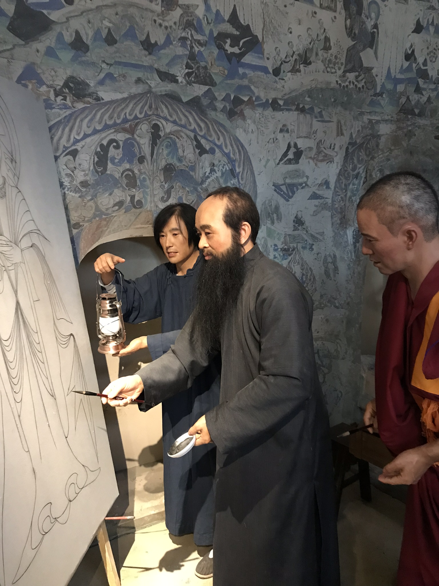Gelungene Darstellungen im Zhang Daqian Museum